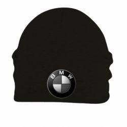 Шапка на флисе BMW Black & White - FatLine