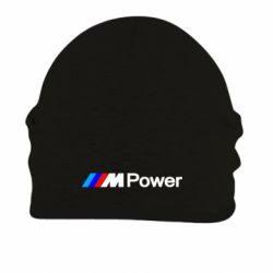Шапка на флисе BMW M Power logo - FatLine