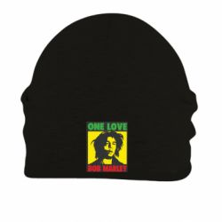 Шапка на флисе Bob Marley One Love - FatLine