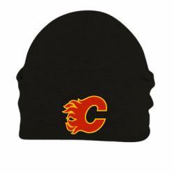 Шапка на флисе Calgary Flames - FatLine