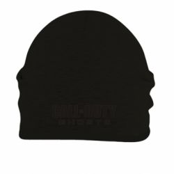 Шапка на флисе Call of Duty Ghosts Logo - FatLine