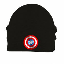 Шапка на флисе Captain America 3D Shield - FatLine