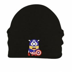 Шапка на флисе Captain America Minion