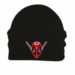 Шапка на флисе Deadpool Kabuki Mask - FatLine