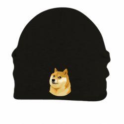 Шапка на флисе Doge - FatLine