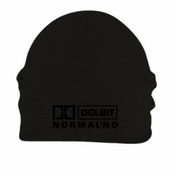 Шапка на флисе Dolbit Normal'no - FatLine