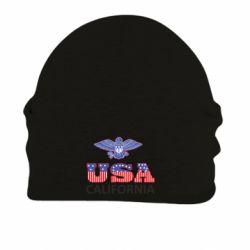 Шапка на флисе Eagle USA - FatLine
