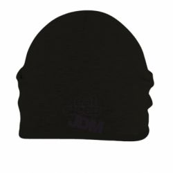 Шапка на флисе Eat sleep JDM