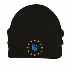 Шапка на флисе ЕвроУкраїна - FatLine