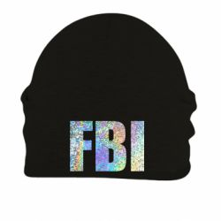 Шапка на флісі FBI голограма
