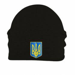 Шапка на флисе Герб України 3D