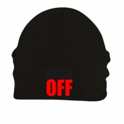 Шапка на флисе HACK OFF - FatLine
