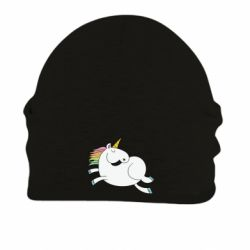 Шапка на флісі Happy Unicorn