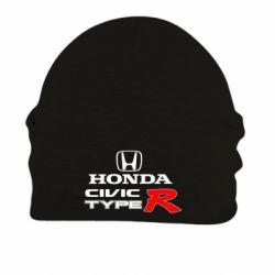 Шапка на флисе Honda Civic Type R - FatLine