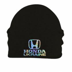 Шапка на флисе Honda Ukraine Голограмма