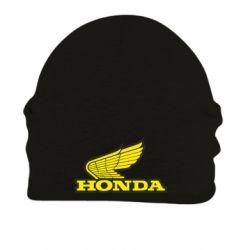 Шапка на флисе Honda Vintage Logo - FatLine