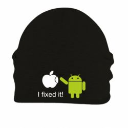 Шапка на флисе I fixed it! Android - FatLine