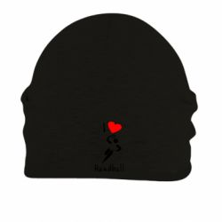 Шапка на флисе I love handball 2 - FatLine