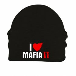 Шапка на флисе I love Mafia 2 - FatLine