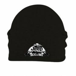 Шапка на флисе Jeep rocks