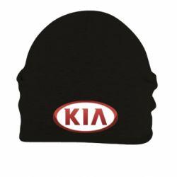 Шапка на флисе KIA 3D Logo - FatLine