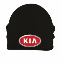 Шапка на флисе KIA Logo 3D - FatLine