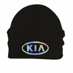 Шапка на флисе KIA logo Голограмма