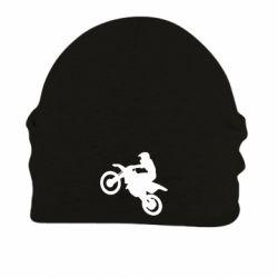 Шапка на флисе Кроссовый мотоцикл - FatLine