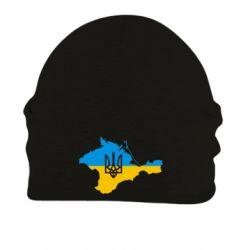 Шапка на флісі Крим це Україна