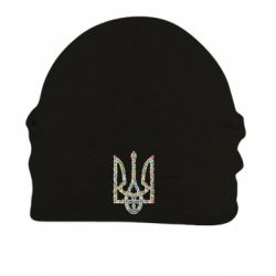 Шапка на флисе Квітучий герб України - FatLine