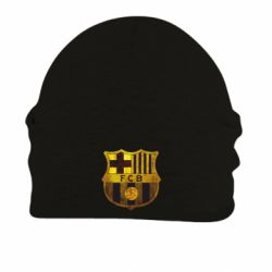 Шапка на флисе Логотип Барселоны - FatLine