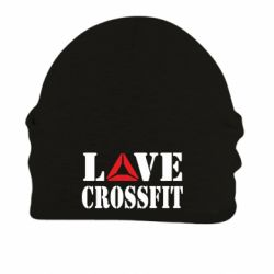 Шапка на флисе Love CrossFit - FatLine
