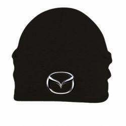 Шапка на флисе Mazda 3D Small Logo - FatLine