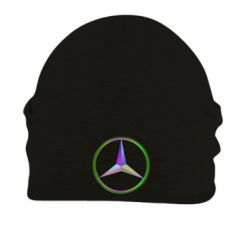 Шапка на флисе Mercedes Logo Art - FatLine