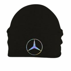 Шапка на флісі Mercedes Лого Голограма