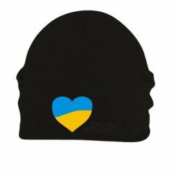 Шапка на флисе Народився в Україні - FatLine