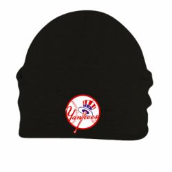 Шапка на флисе New York Yankees - FatLine