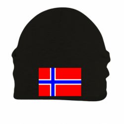Шапка на флисе Норвегия - FatLine