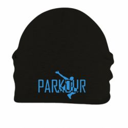 Шапка на флисе Parkour Logo - FatLine