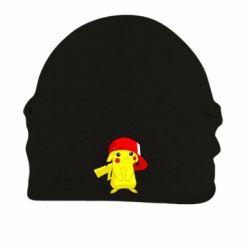 Шапка на флисе Pikachu in a cap