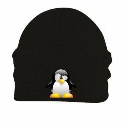 Шапка на флисе Пингвинчик - FatLine