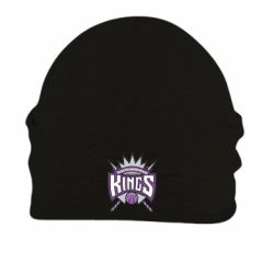 Шапка на флисе Sacramento Kings - FatLine