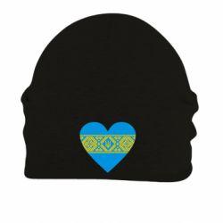 Шапка на флисе Серце України - FatLine