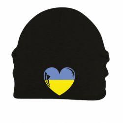 Шапка на флісі Серце України