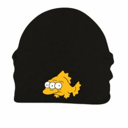 Шапка на флисе Simpsons three eyed fish - FatLine