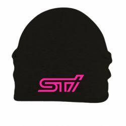 Шапка на флисе STI Logo - FatLine