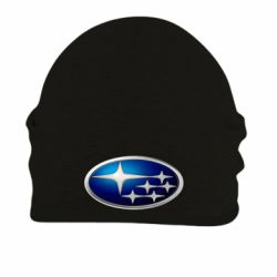 Шапка на флисе Subaru 3D Logo - FatLine