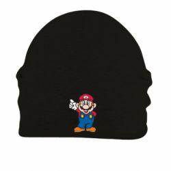 Шапка на флисе Супер Марио - FatLine