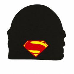 Шапка на флисе Superman Человек из стали - FatLine