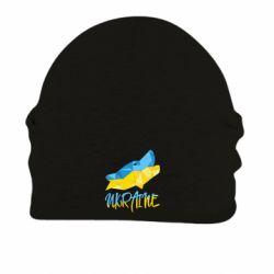Шапка на флисе Ukrainian Wolf - FatLine